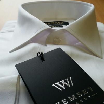 Satino marškiniai RegularFit ilgomis rankovėmis