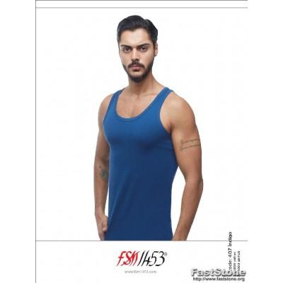 Apatinio trikotažo vyriški marškinėliai be rankovių