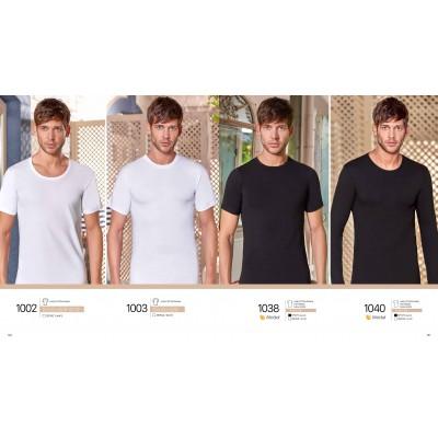 Marškinėliai modalo ir medvilnės pluošto