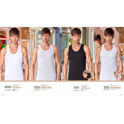 Modalo pluošto apatinio trikotažo marškinėliai be rankovių