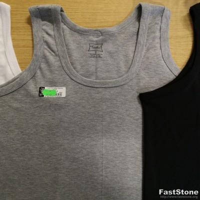 5-6XL apatinio trikotažo vyriški marškinėliai be rankovių