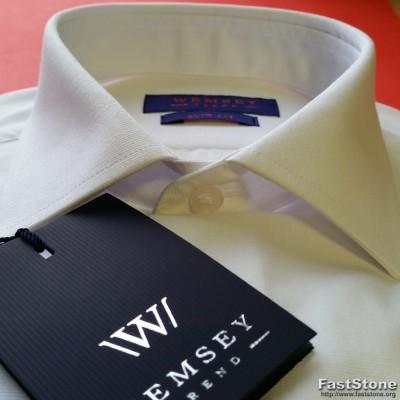 SlimFit-stiliaus liemenuoti satino proginiai marškiniai