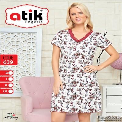 Moteriški naktinukai, viskozė 90%, elastanas 10%, pagaminta Turkijoje. Labai aukšta gaminio kokybė